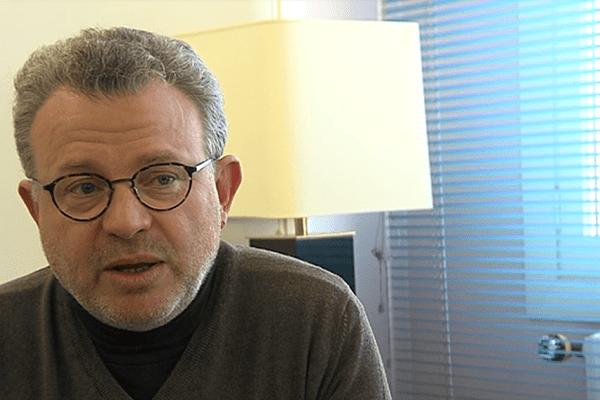 Pascal Allizard, sénateur et président de LR dans le Calvados
