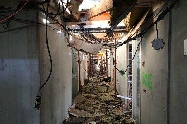 L'incendie qui a ravagé la mairie d'Annecy le 14 novembre 2019 a causé d'importants dégâts dans l'ensemble du bâtiment.