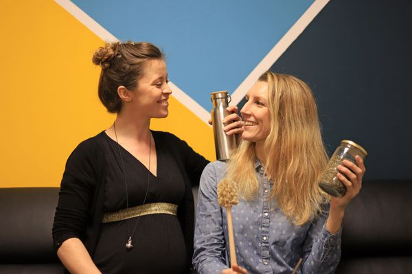 Célia et Laura se mobilisent pour une consommation plus saine et moins polluante