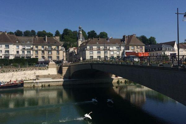 Le pont sur la Marne de Château-Thierry.