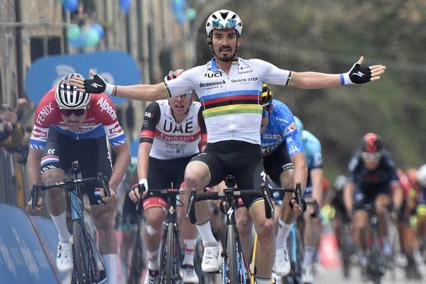 Julian Alaphilippe, champion du monde en titre de cyclisme sur route, sera le parrain de L'Isula Race qui se tiendra les 23 et 24 octobre prochains à Bastia.