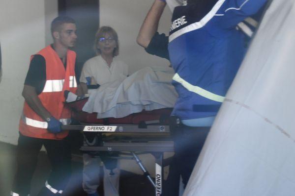Le Britannique Christopher Froome souffre de multiples fractures après sa chute lors du Critérium du Dauphiné, mercredi 12 juin.