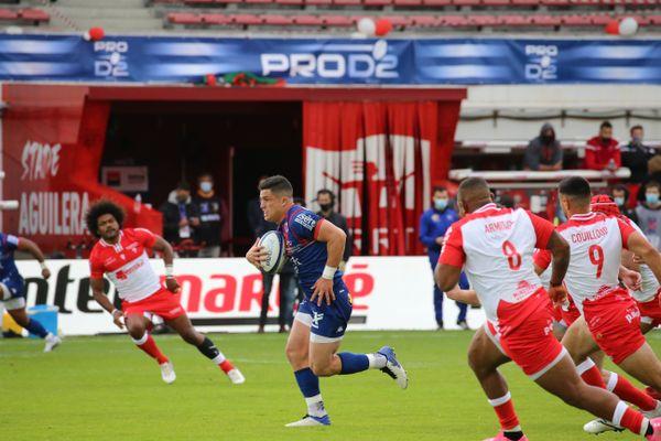 Le FC Grenoble Rugby n'a pas réussi à surmonter le défi physique imposé par les Basques du BO, samedi 22 mai.
