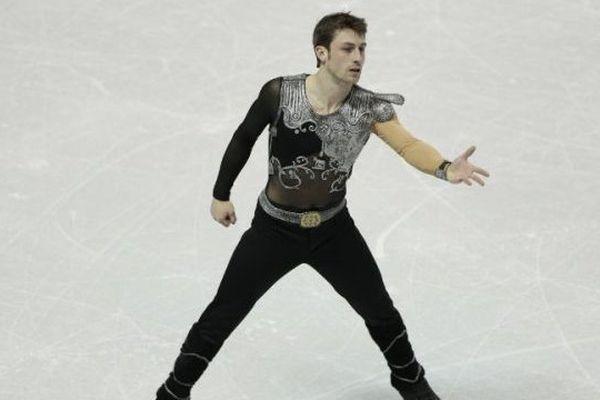 Brian Joubert, le 15 mars 2013