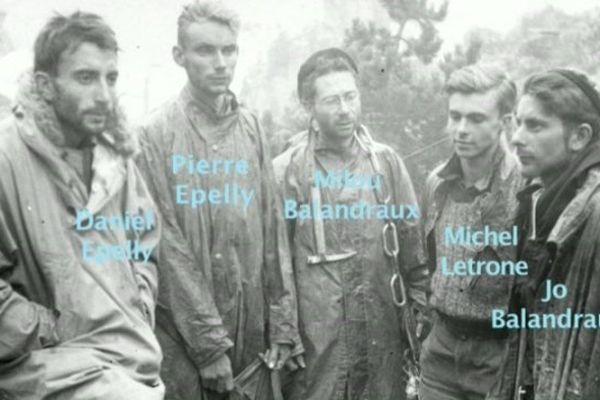 Ils ont participé au sauvetage du Gouffre Saint-Martin