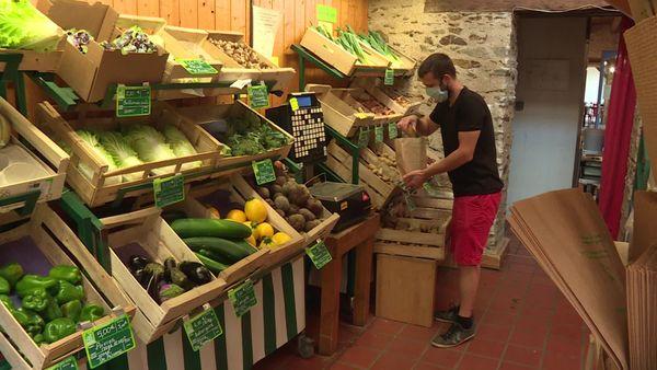 Le magasin de la Ranjonnière à Bouguenais est le point de vente d'une douzaine de producteurs locaux.