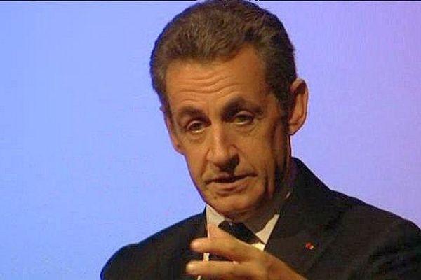 Nicolas Sarkozy en visite à Châteauroux dans l'Indre