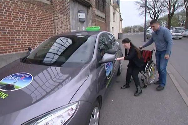 Saint-Quentin : une auto-école pour personnes handicapées