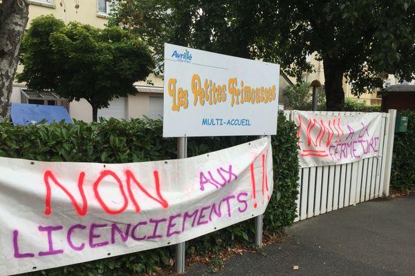 Les parents s'opposent à la fermeture de la crèche de leurs enfants, ils ont aussi lancé une pétition
