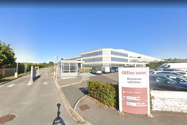 Le siège social d'Office Dépôt à Senlis dans l'Oise