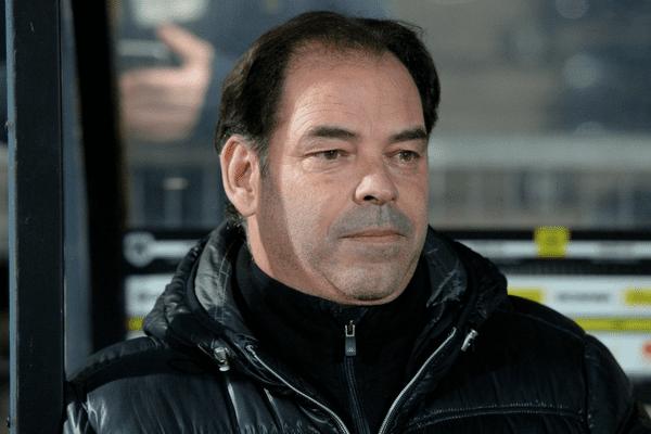 Stéphane Moulin, l'entraineur du Angers SCO
