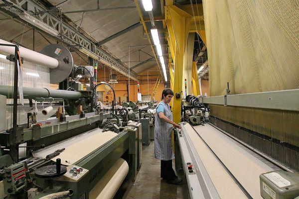 L'entreprise Porthault en 2007.