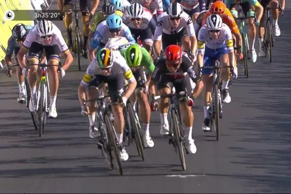 Arrivée de la 10e étape du Tour de France 2020
