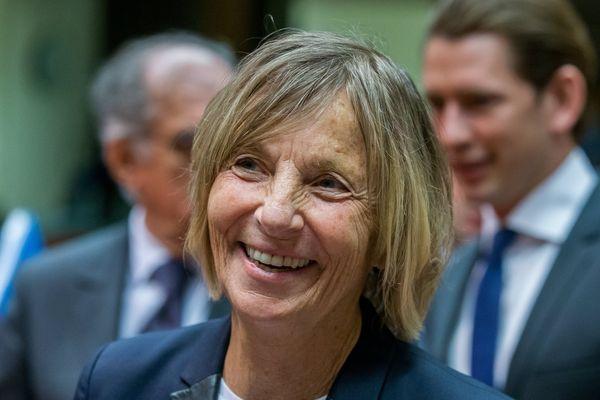La ministre des Affaires européennes, Marielle de Sarnez, en mai 2017, à Bruxelles.