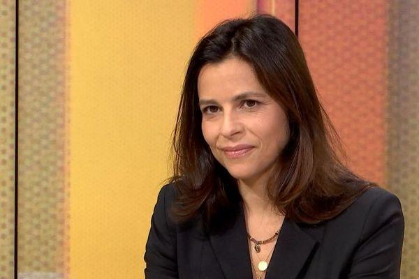 La maire Les Républicains de Porticcio et conseillère territoriale Valérie Bozzi, invitée d'In Tantu in pulitica le 14 septembre 2020.