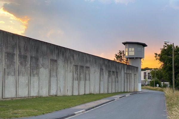 Le centre pénitentiaire de Metz-Queleu.