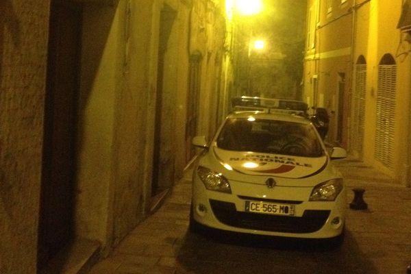 Les services de sécurité sont intervenus rue Droite, dans le centre-ville de Bastia, vendredi 5 août, dans la soirée.