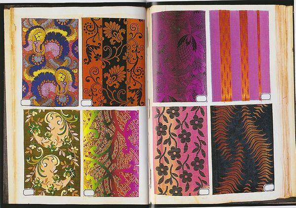 Un catalogue de tissus produits à Bohain (1883)