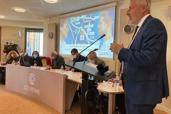 Pierre Massy, président de la CCI de Haute-Vienne