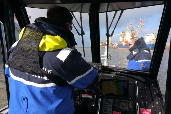 Le PSMP de Calais assure entre autres, la sécurité du port
