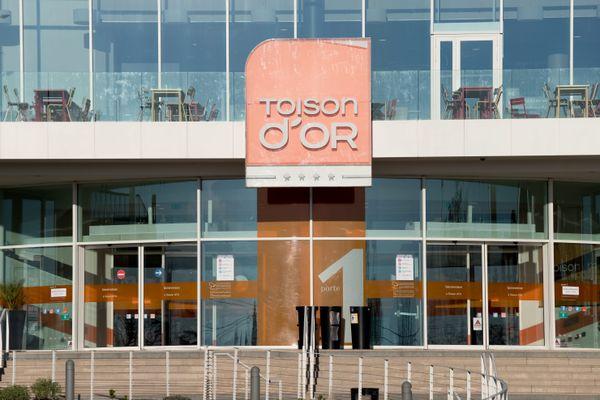 Le centre commercial de la Toison d'Or à Dijon (Côte-d'Or). (archives)