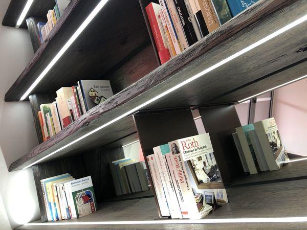 Eric Genetet cotoie Philip Roth dans la bibliothèque partagée