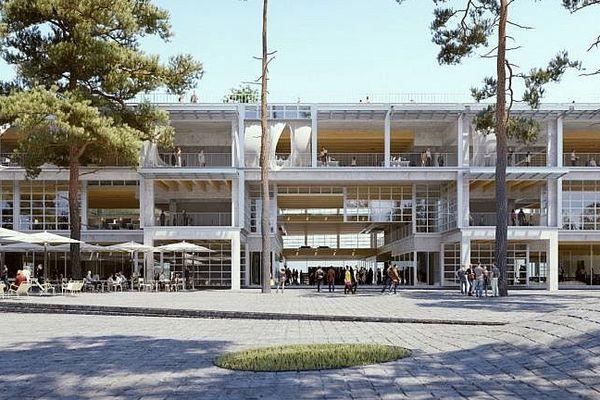 Montpellier - illustration de la future Halle French Tech en 2020