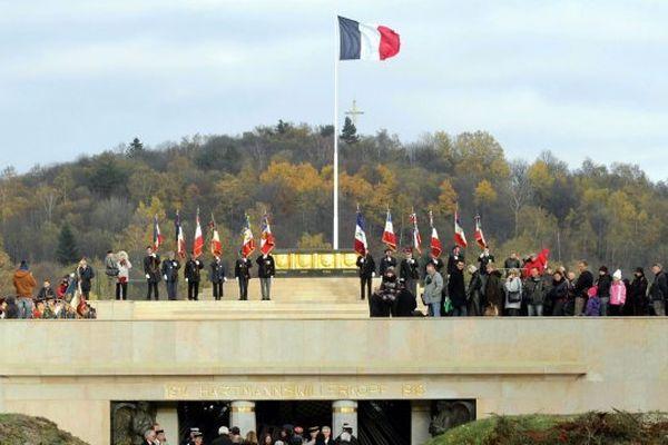 Commémorations du 95ème anniversaire de l'Armistice au Hartmannswillerkopf