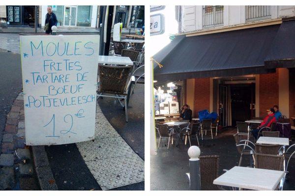 Au croisement boulevard de la Liberté / rue Nationale.