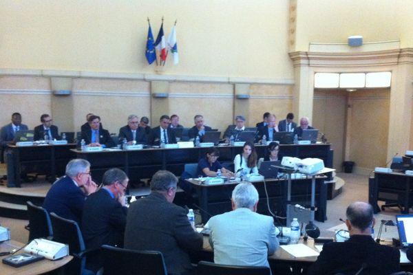 Le Conseil Général réuni ce vendredi 8 novembre en séance plénière