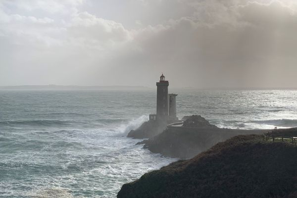 Le phare du Petit Minou, à Plouzané dans le Finistère