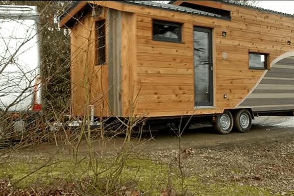 Les Tiny Houses ont le vent en poupe notamment en Mayenne