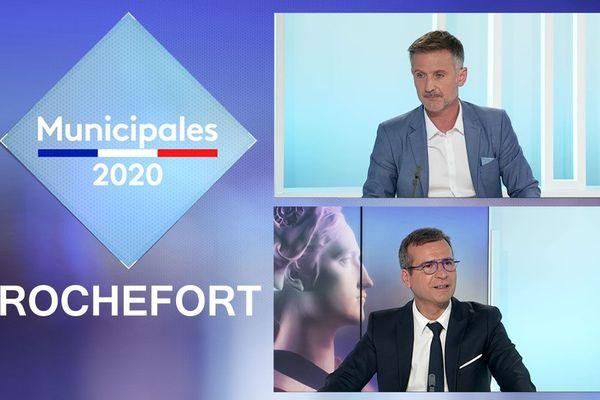 Les candidats aux élections municipales 2020 à Rochefort en débat à France 3 Poitou-Charentes