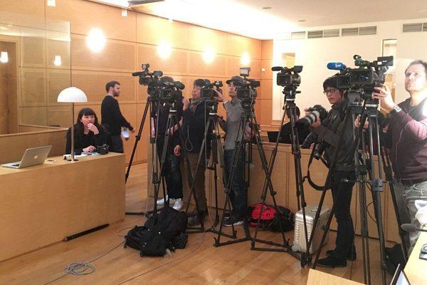Une trentaine de journalistes du monde entier ont assisté à la conférence de presse du Procureur de la République