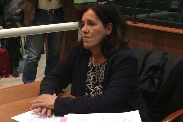 Maria Rosa Da Cruz, la mère de Séréna, dans le box des accusés lundi 12 novembre 2018.