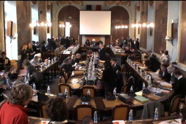 Le conseil municipal de Toulouse du 23 novembre 2012