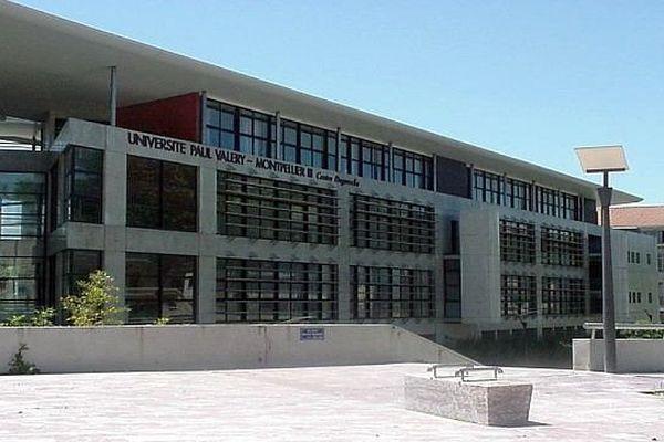 Béziers (Hérault) - l'antenne de l'université Paul-Valéry (centre Duguesclin) - archives
