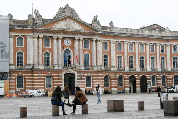 Place du Capitole à Toulouse.