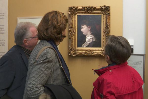 Acquisition du portrait de Juliette Courbet par le département du Doubs
