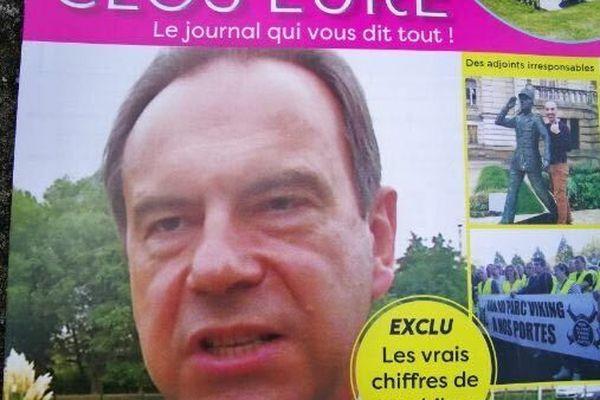Guy Lefrand a décidé de porter plainte contre le tract de l'équipe de campagne de Timour Veyri, pour diffamation.