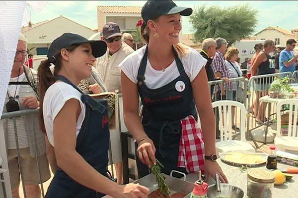 Les filles de la côtelette, un club qui revendique un goût féminin sans complexe pour la viande.