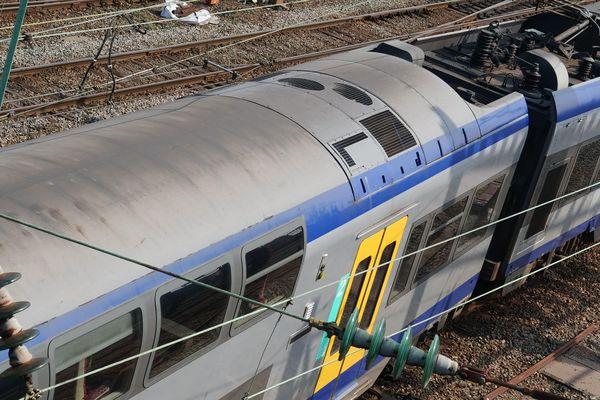 Un train de la SNCF (Image d'illustration).