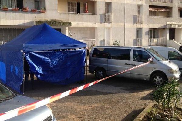 Jean-Dominique Renucci abattu dans le quartier des Salines à Ajaccio le 27 novembre 2014