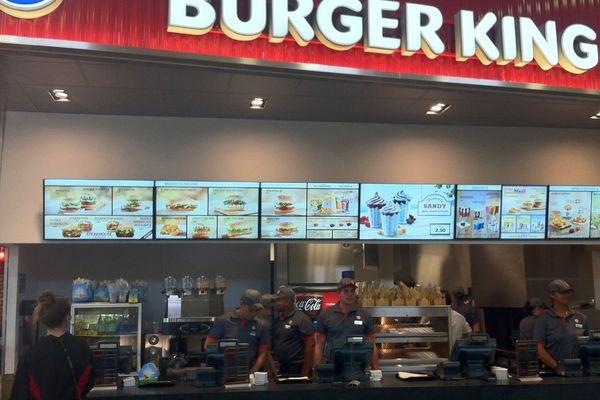 Burger King Reims-Champagne (A4) - 6 caisses à disposition
