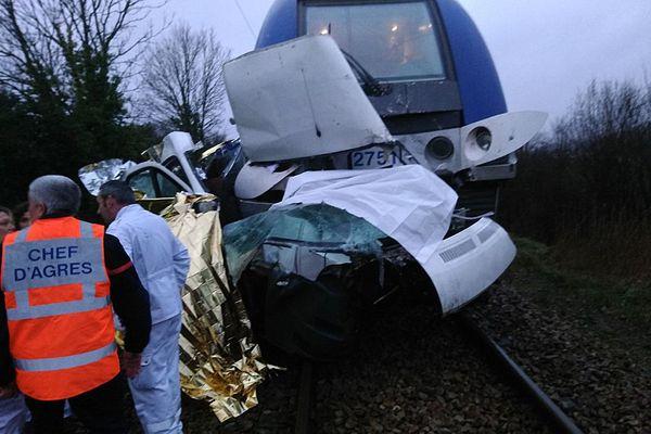 Un accident s'est produit ce dimanche 21 janvier 2018 au passage à niveau de Saint-Arnoult