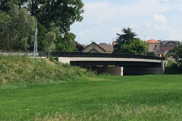 Le nouveau pont de Lunéville