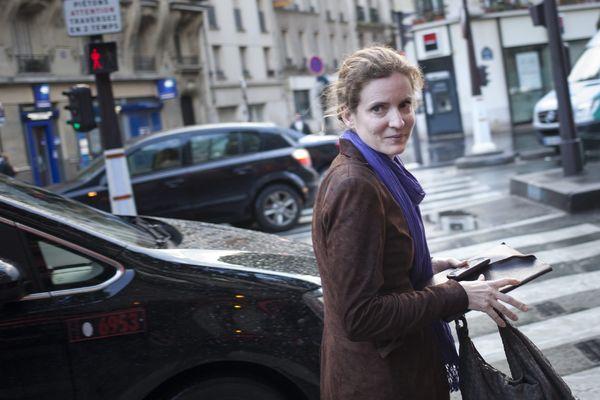 Cafe politique avec Nathalie Kosciusko-Morizet, le 30 mai 2013 à Paris.