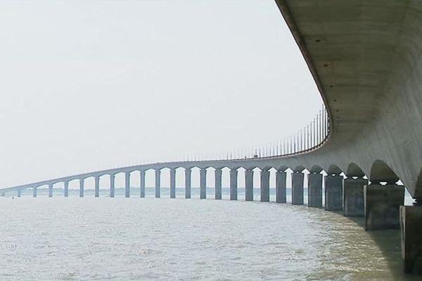 Les travaux vont bientôt commencer sur le pont de l'île de Ré après la rupture d'un câble de précontrainte.