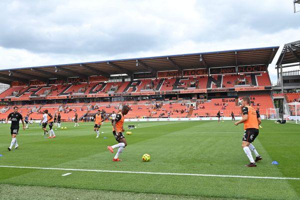Le stade du Moustoir sera peu rempli dimanche 23 août pour le match entre le FC Lorient et Strasbourg, en raison des mesures sanitaires liées au Covid.