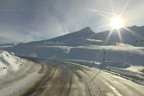 La neige a fait son apparition sur les Pyrénées-Orientales.